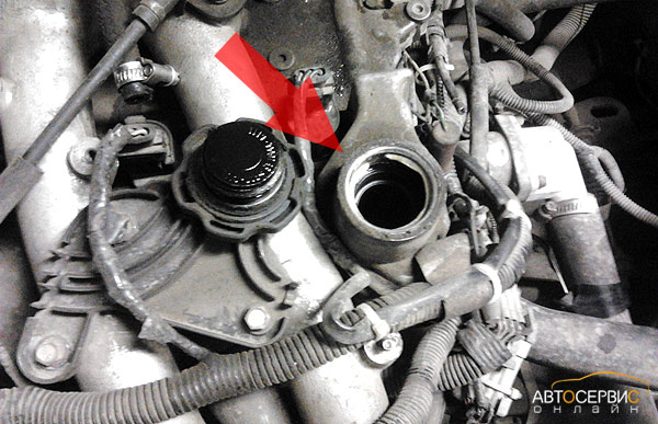 Фото №16 - масло в воздушном фильтре ВАЗ 2110 16 клапанов