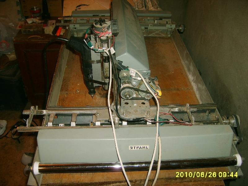 ЧПУ станок из печатных машинок