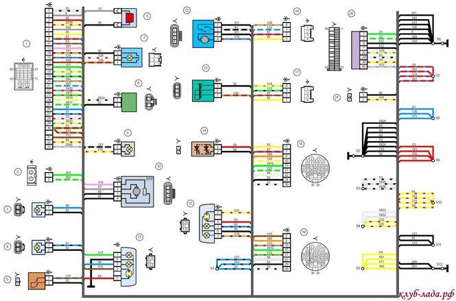 Электрическая схема гранта