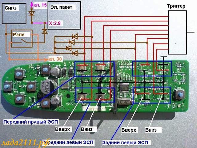 Схема проводки лада Приора Ваз