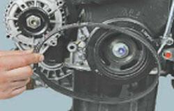 Замена генератора и ремня на Дэу Матиз 8 - фото и