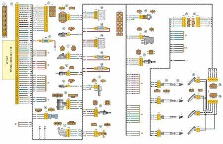 Схема электропроводки авто