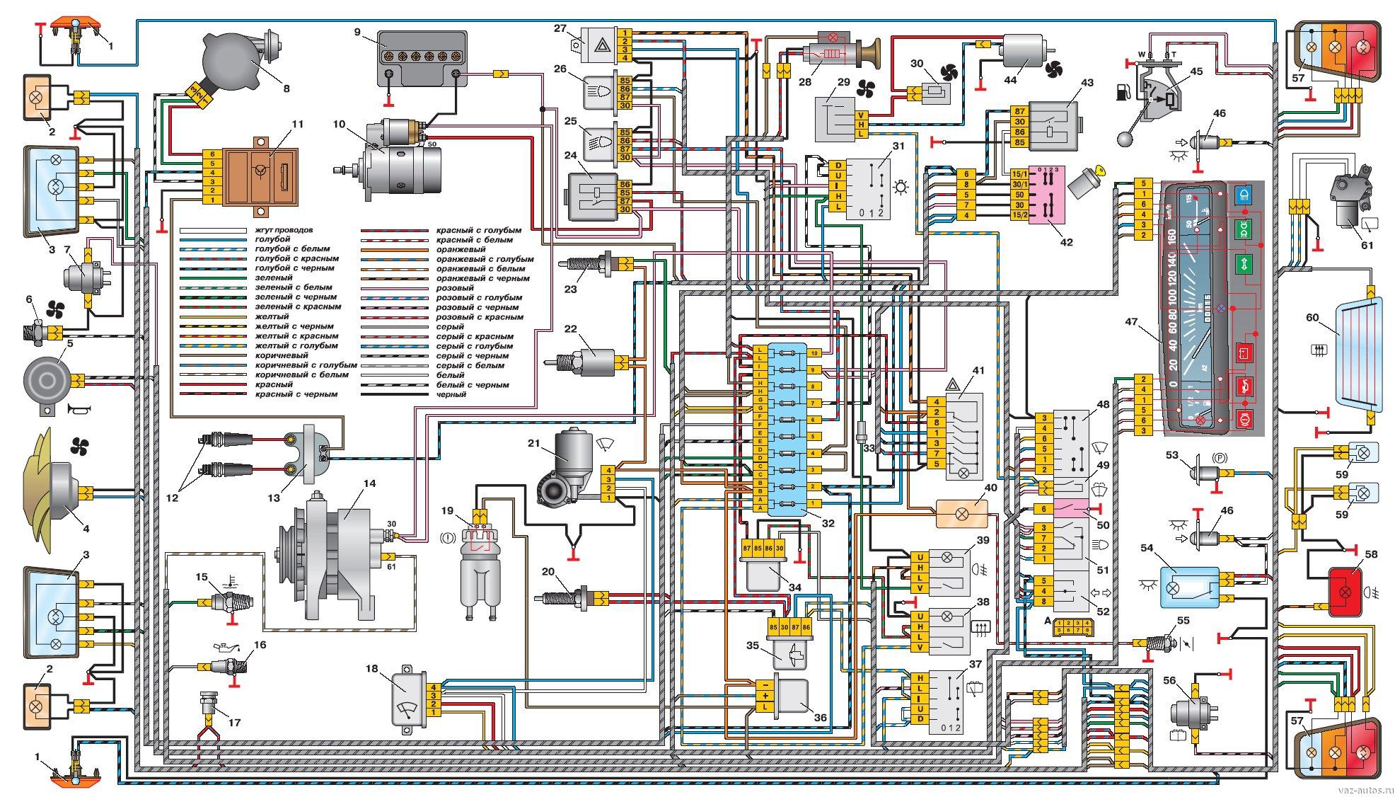 Схема Электропроводки Камаз 53212