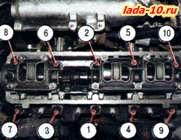 Фото №15 - замена прокладки головки блока цилиндров ВАЗ 2110