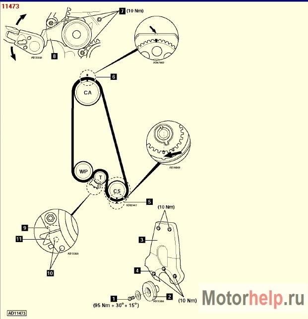Замена ремня ГРМ на Chevrolet