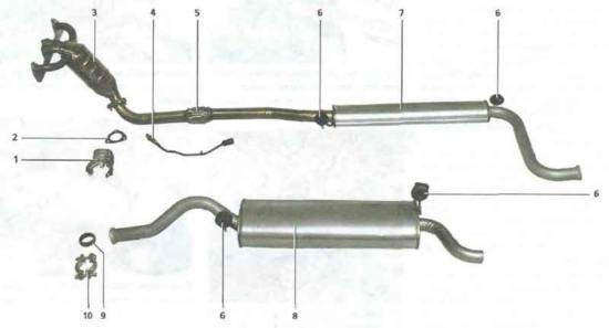 Калина ВАЗ 1118 устройство