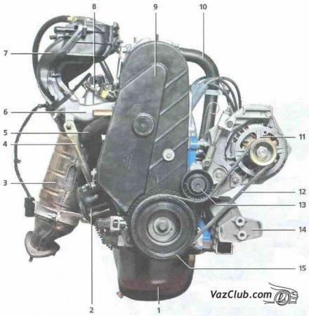 Двигатель Лада Калина (Lada