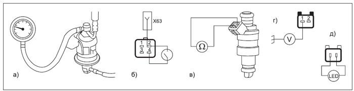 Диагностика ЭСУД Hyundai ECFI