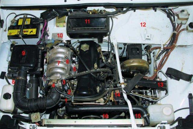 двигателя 21214