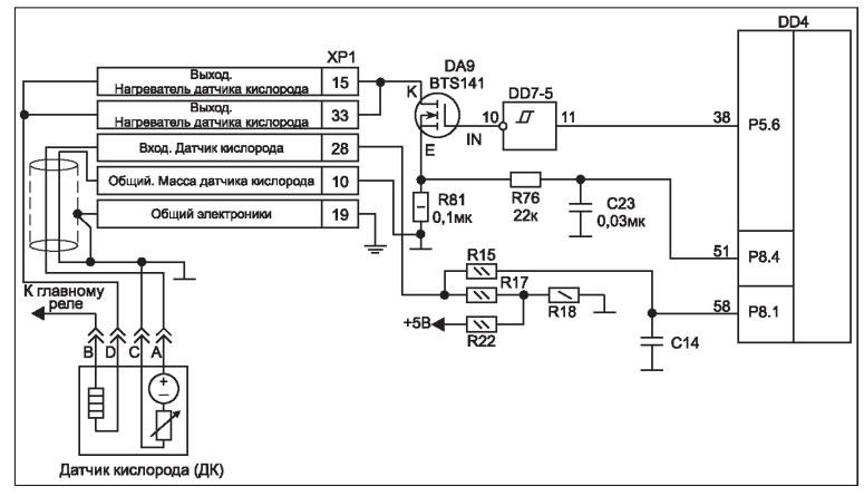 Схема подключения ДК к