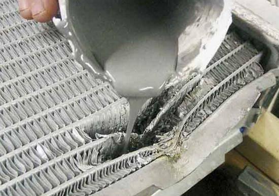 Радиатор охлаждения ремонт своими руками видео