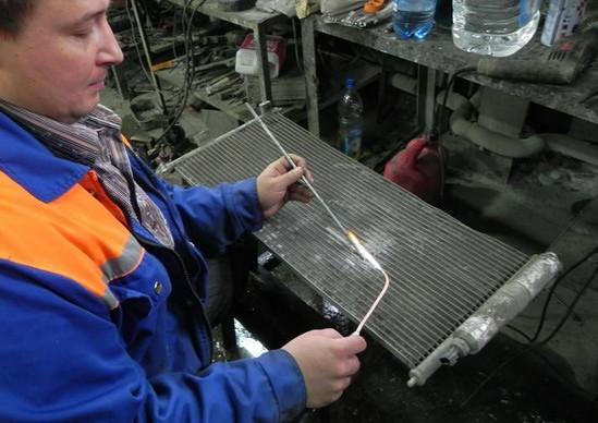 Ремонт автомобильных радиаторов своими руками