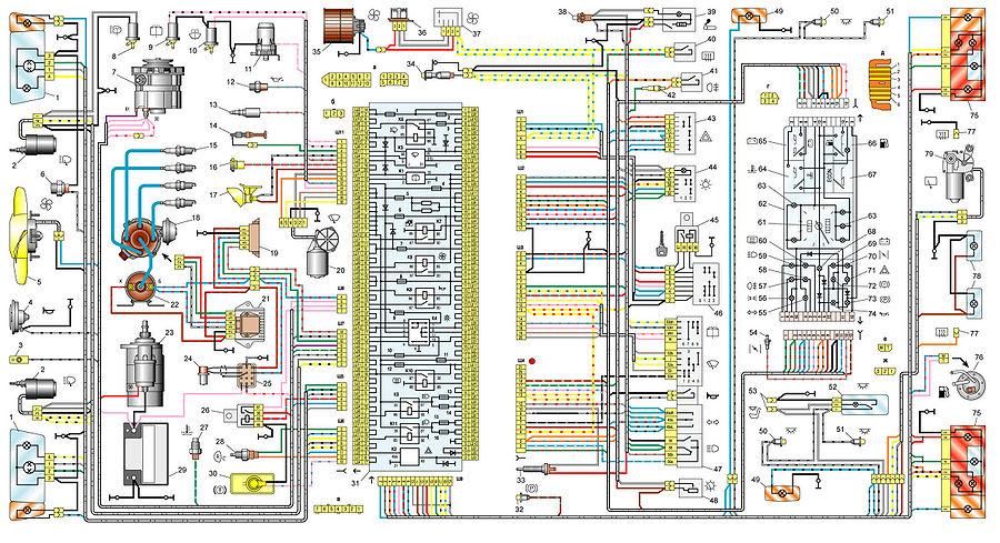 2108 Полная схема