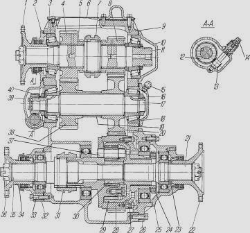 Раздатка автомобилей Урал-4320