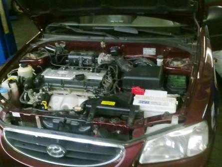 замена ремня ГРМ Hyundai