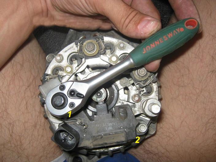 Фото №23 - размеры щётки генератора ВАЗ 2110