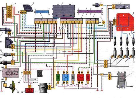 Электрооборудование ваз 2108