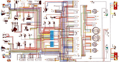 схема электрическая шевроле