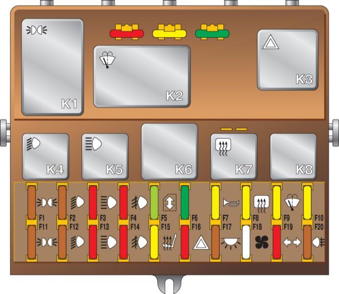 Схема электрооборудования 2110