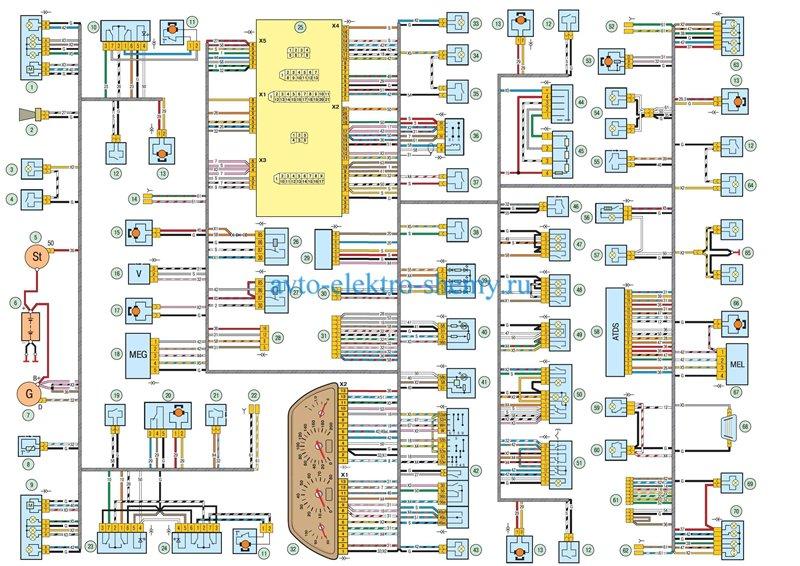 Схемы электрооборудования и