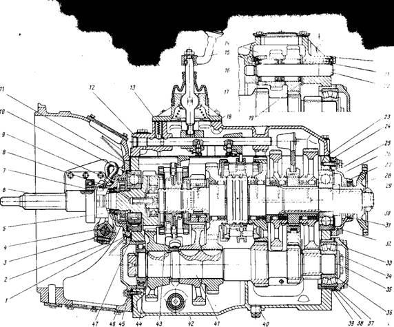 Коробка передач Урал 4320 5557