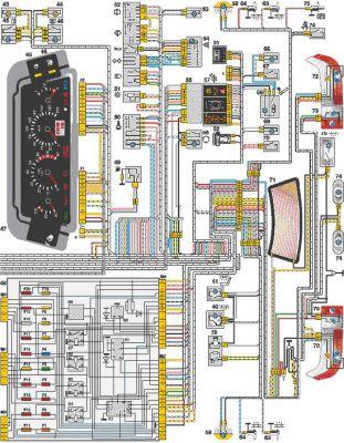 Схема ВАЗ-21102