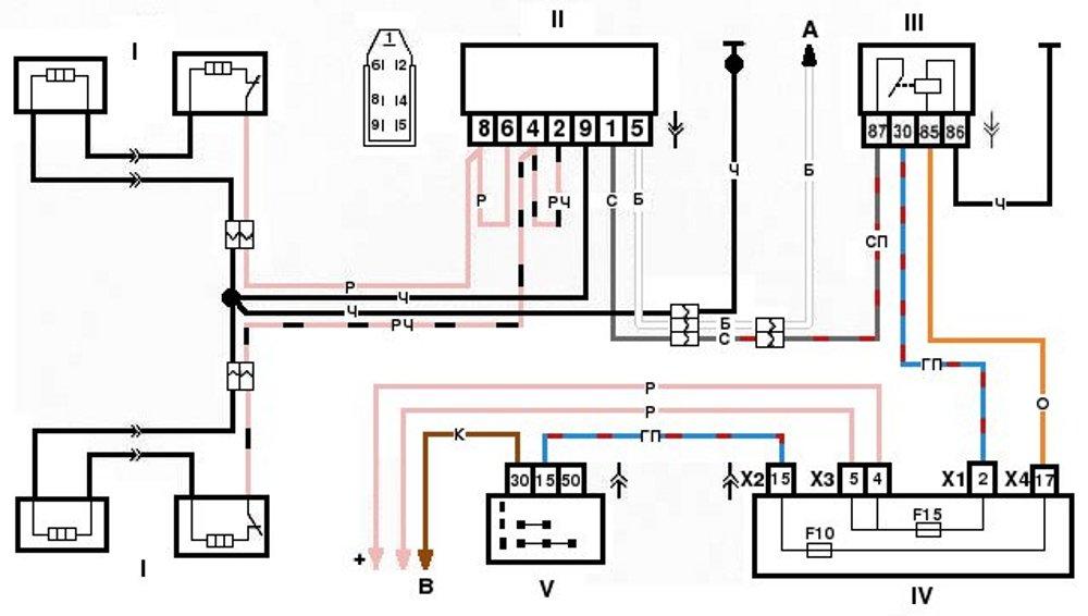 Схема электронное зажигание на мотоцикл минск 12 вольт