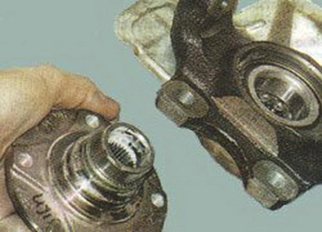 Замена переднего ступичного подшипника нексия своими руками