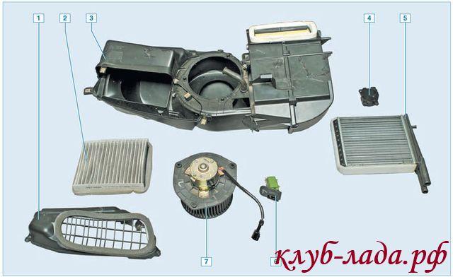 Микромотор-редуктор заслонки