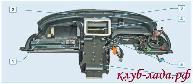 Мотор редуктор отоплениния ваз