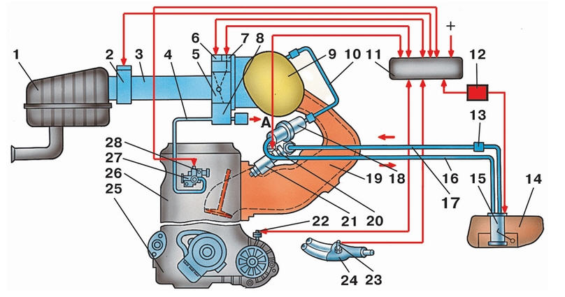 Контроллер ВАЗ-2110 (Блок
