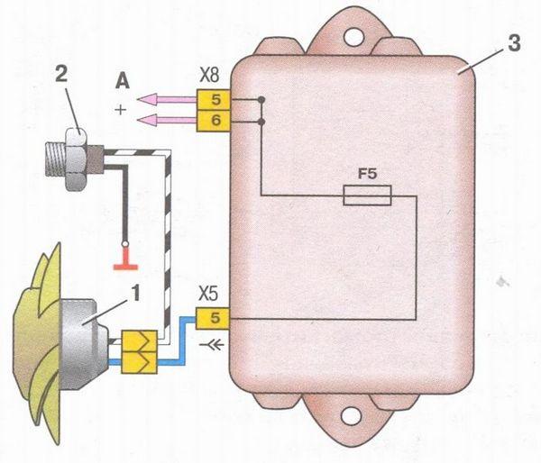 электросхема ваз 2108