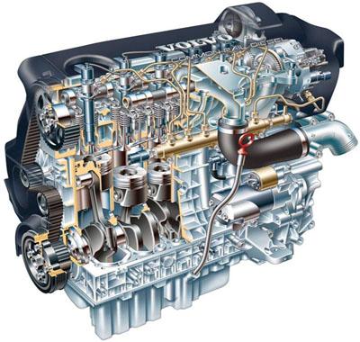 инжекторного двигателя