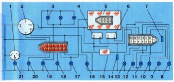 Электронная схема соеденинений