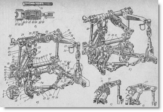 устройство трактора ДТ-75