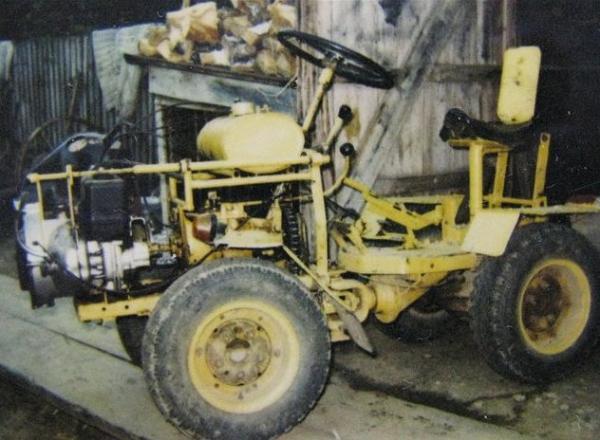 Cамодельный трактор с