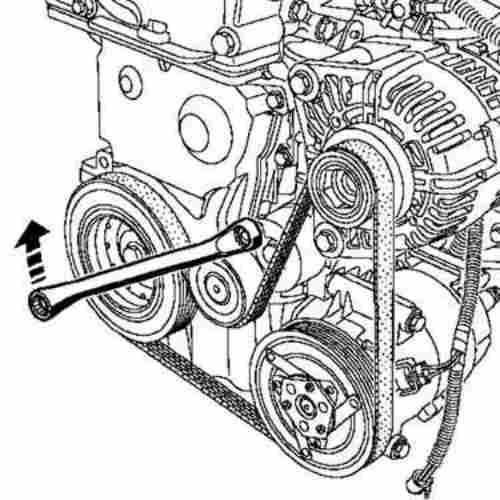 ремня привода генератора
