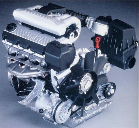 двигателей BMW в кузове