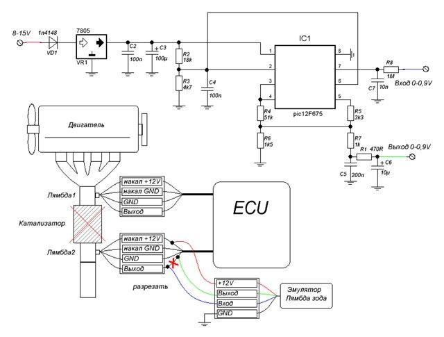 Микропроцессорный эмулятор