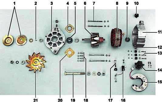 Детали генератора 372.3701:1