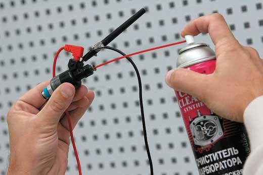 Как промыть инжектор своими руками фото