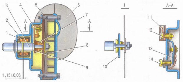 звуковой сигнал ваз 2106