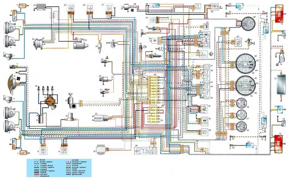 схеме электрооборудования