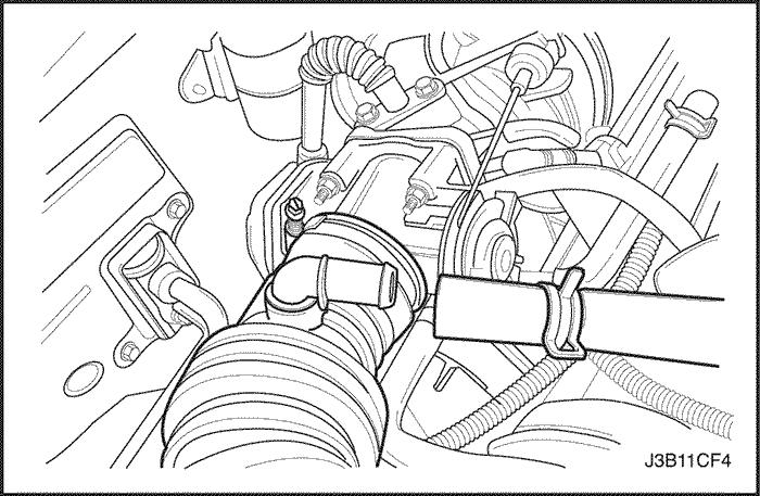 Замена ремня ГРМ двигателя