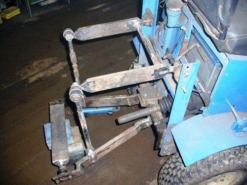 Навеска для трактора своими руками