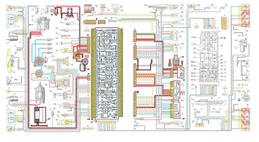 Электрооборудование 2108