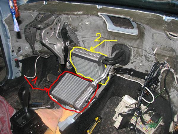 Очистка кондиционера форд фокус своими руками