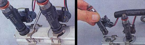 Замена форсунок своими руками фото