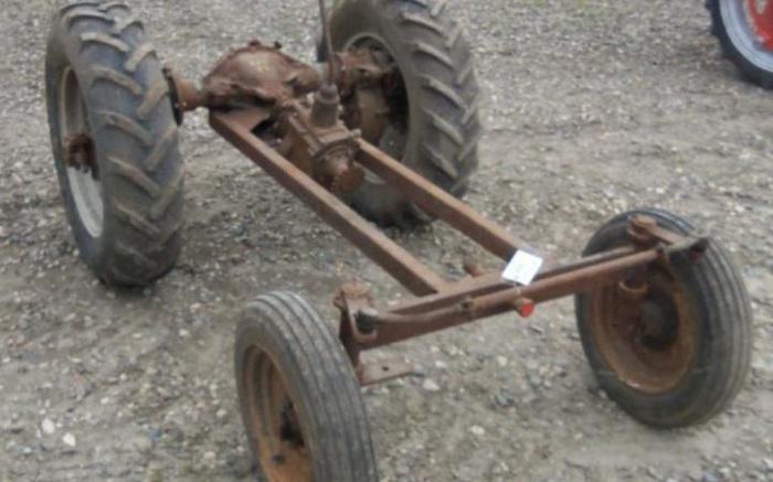 Схемы и самодельных тракторов