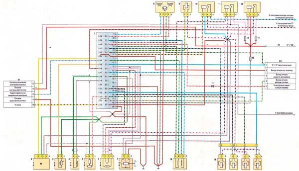 что эл. схема инжекторного